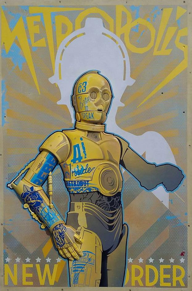 робот из звездных войн c3po
