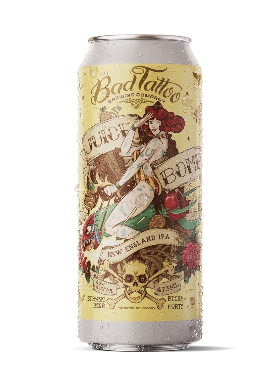 пиво JUICE BOMB NEW ENGLAND IPA