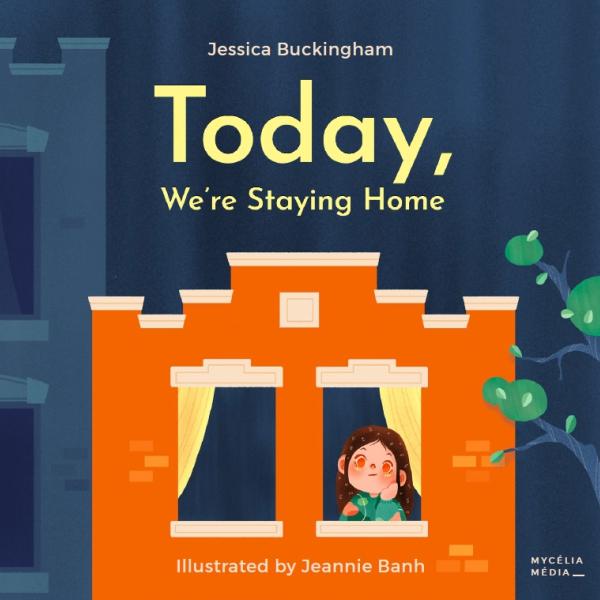 детская книжка - Сегодня мы останемся дома