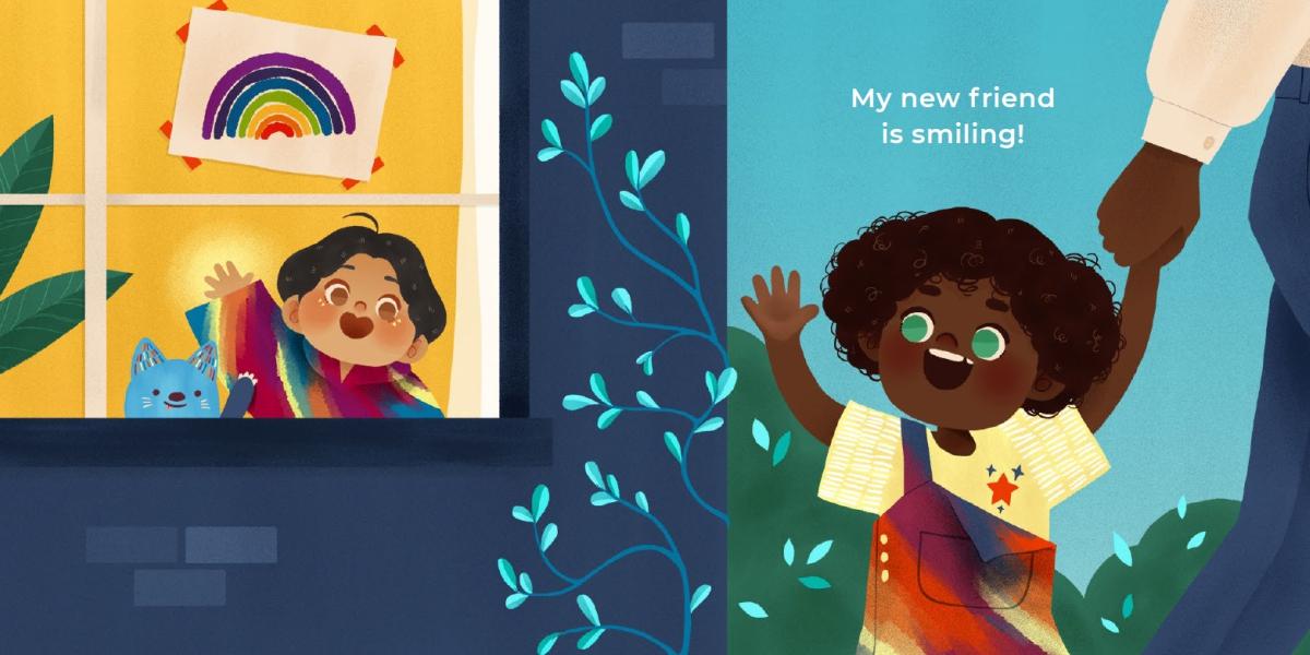 детская книжка - Секретная Радуга